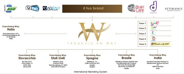5 tappe franchising way