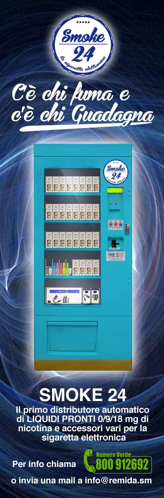 distributori sigarette elettroniche