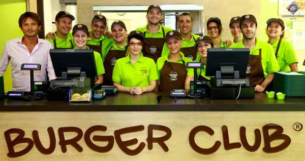 team burger club