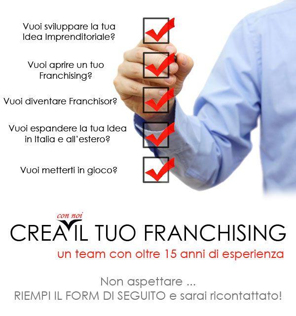 crea il tuo franchising