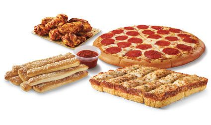Little Caesars Pizza, Wings, Breadsticks