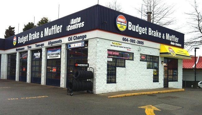 Canadian Franchise opportunity Budget Brake & Muffler