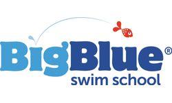 Big Blue Swim School Logo