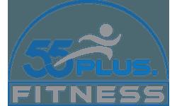 55PLUS.fitness Logo
