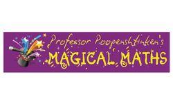 Professor Poopenshtinken's Magical Maths  Logo