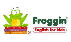 Froggin English for Kids Logo