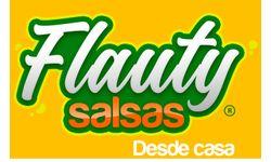 FLAUTY SALSAS desde casa Logo