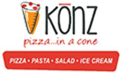 Konz Pizza in a Cone Logo