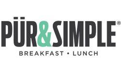 PUR & SIMPLE Breakfast - Lunch Logo