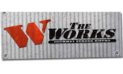 The WORKS Gourmet Burger Bistro Logo