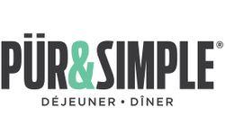 PUR & SIMPLE Déjeuner - Dîner (Français) Logo