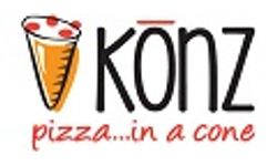 Konz Pizza in a Cone Logo
