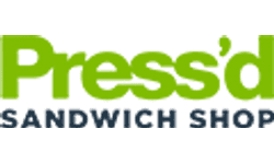 Press'd Sandwich Shop Logo