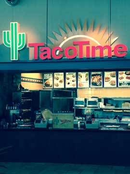 Taco Time Canada Franchise - Mall