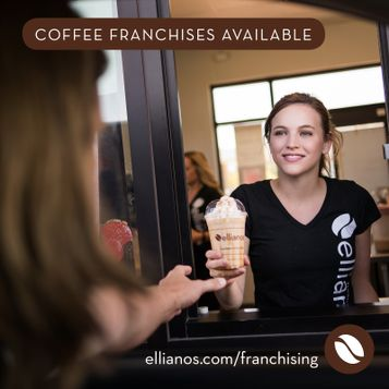 start Ellianos Coffee Company franchise