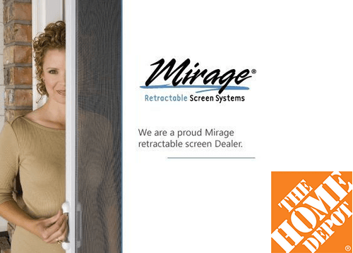 Mirage Retractable Screen System