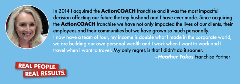 ActionCOACH Canada testimonial