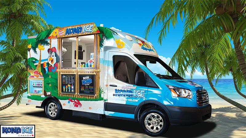 Kona Ice Franchise - Truck